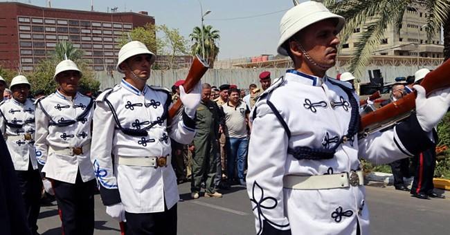 IS suicide bombing kills 2 Iraqi army generals in Anbar
