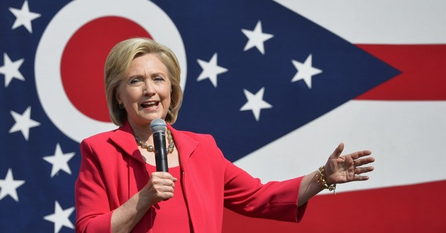 Clinton likens GOP's views on women to those of terrorists
