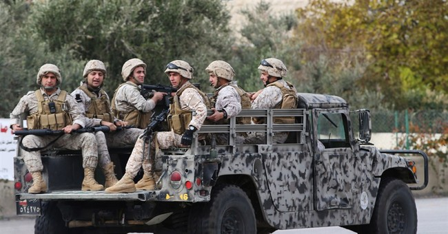 Official says 8 Lebanese troops killed fighting militants