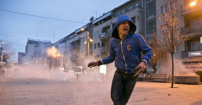 Thousands protest in Kosovo, demand Serb minister be fired