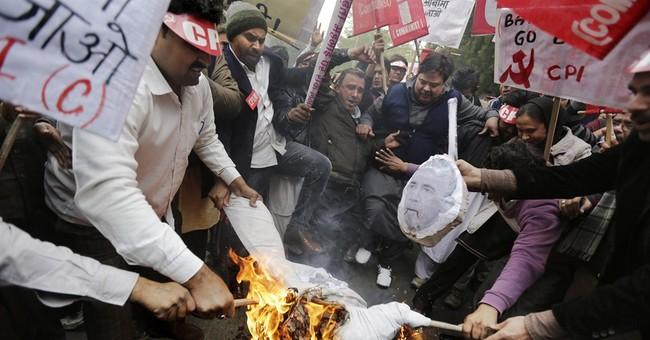 Indian communist groups oppose Obama's visit to New Delhi