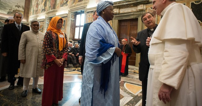 Pope: Ridding stereotypes key to Christian-Muslim relations