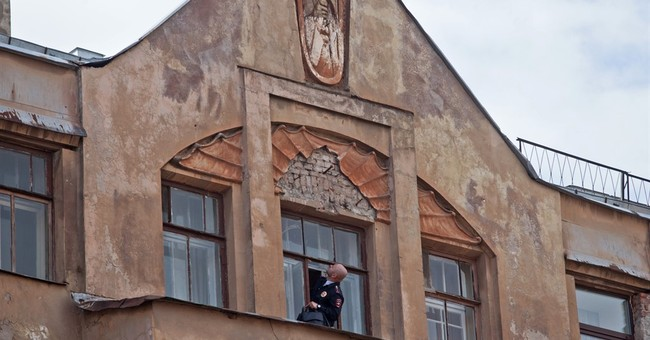 Russian police finds stolen bas relief in right-wing attack