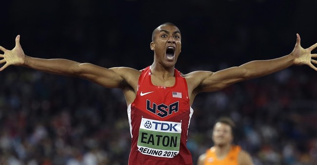 Image of Asia: Ashton Eaton races to wide lead in decathlon
