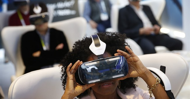 At a virtual reality expo, VR comes in many forms