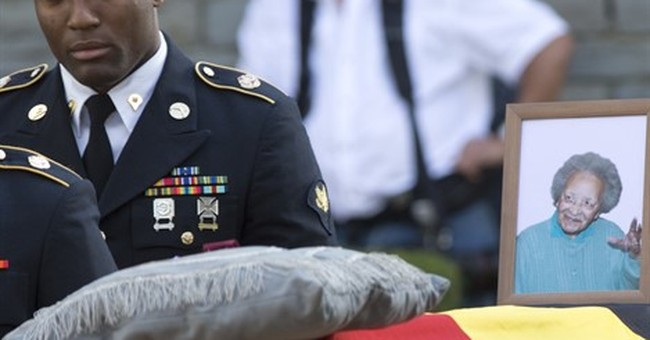 Belgium lays to rest heroine who saved countless GI lives