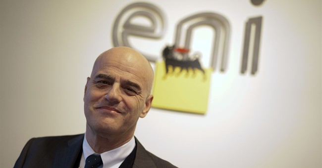 Italy's Eni finds 'supergiant' natural gas field off Egypt