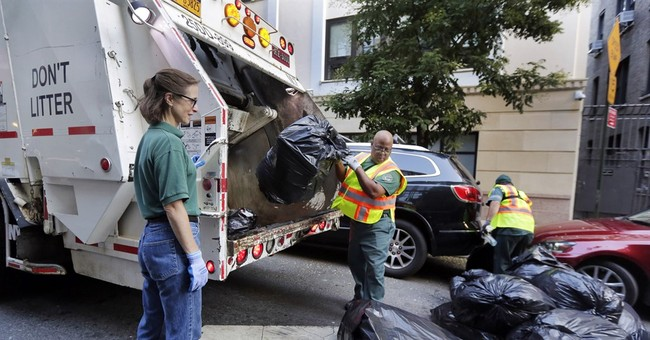 Trash to treatise: NYC professor sees meaning in garbage