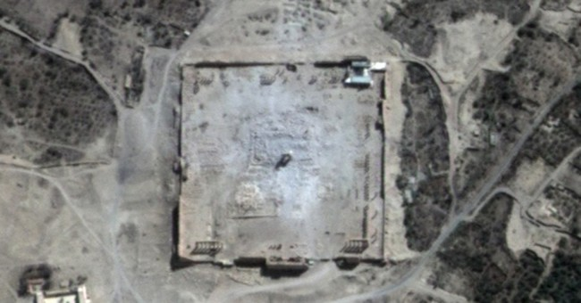 """UN: Satellite images show Temple of Bel in Syria """"destroyed"""""""