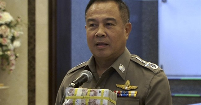 Thai police award themselves $84K for arrest of bomb suspect