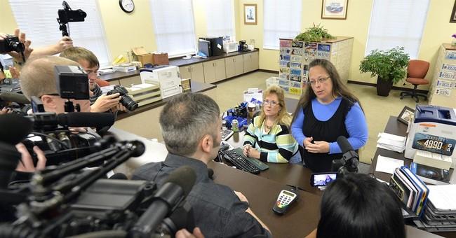 Kentucky clerk gets help from GOP state Senate president