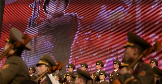 North Korean choir gives military-inspired concert in Russia