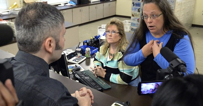 Kentucky clerk's defiance is a test for GOP rivals