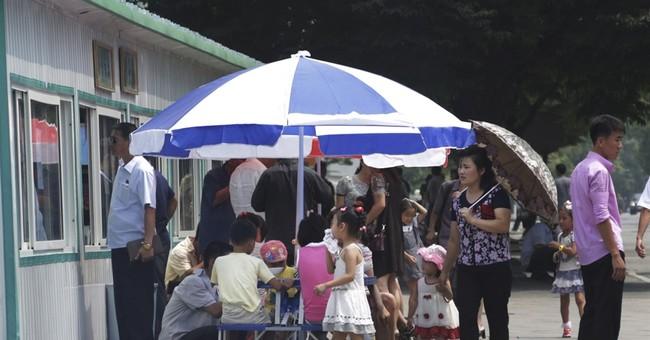 Street stalls show shifting face of North Korean economy