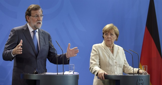 Merkel makes vague warning on Catalan independence plan