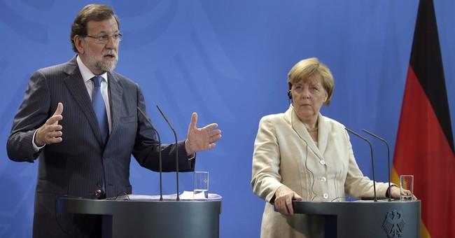 Merkel makes vague warning on Catalan independence plan