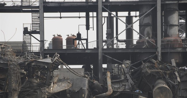 China chemical factory blast toll rises to 5