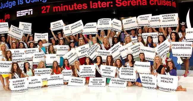 52 Miss America hopefuls meet the public in Atlantic City