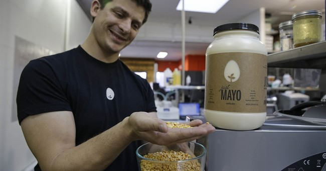 APNewsBreak: Egg group scrambled over eggless mayo maker