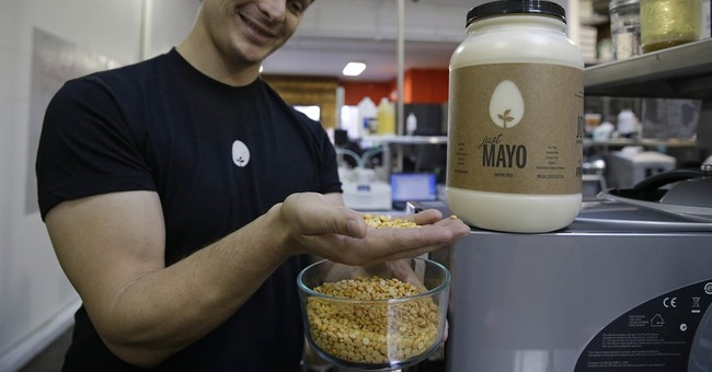 APNewsBreak: Egg group scrambled over eggless mayo maker