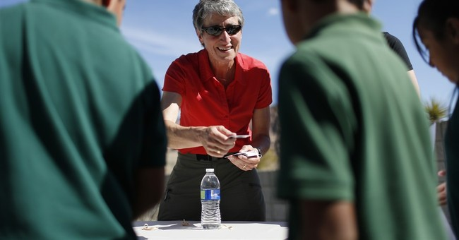 US official in Nevada highlights kids in parks campaign