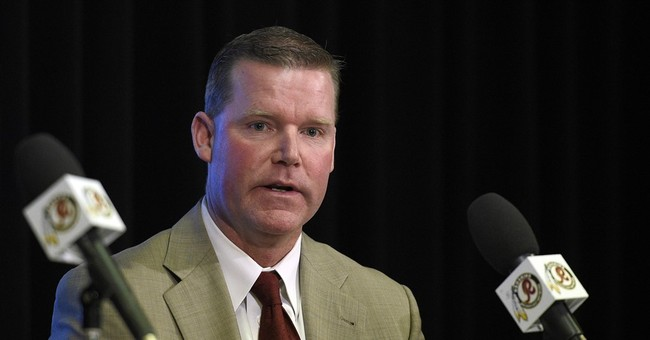 Redskins GM's wife apologizes for tweet about reporter