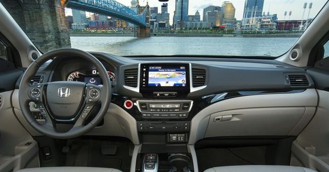 New Honda Pilot looks smaller but adds interior room, power