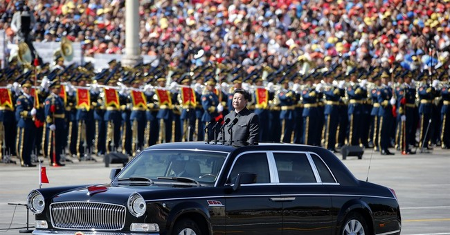Out of the sunroof, and the office: Glimpses of China parade