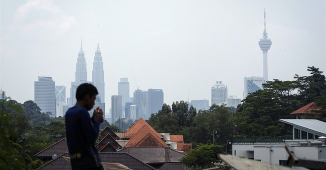 Image of Asia: Wildfires in Indonesia spread haze