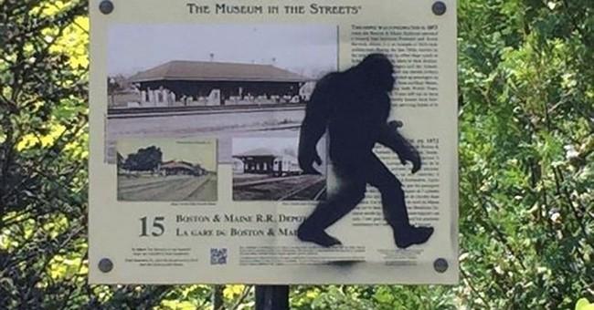 Sasquatch sighting! Maine police say Bigfoot artist nabbed