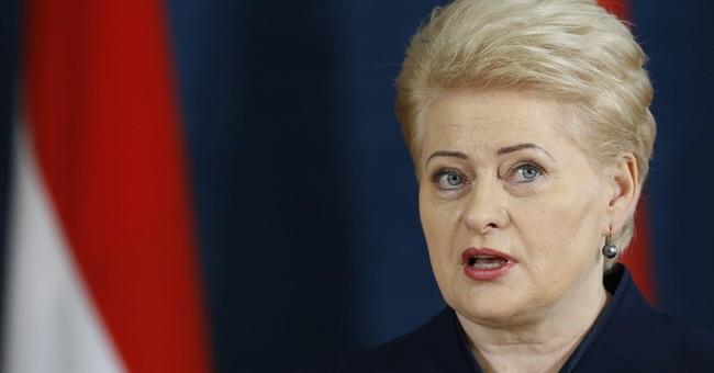 NATO opens military center in Lithuania amid Ukraine crisis