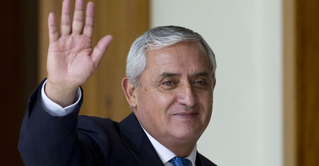 The Latest: Guatemala ex-leader escorted to jail