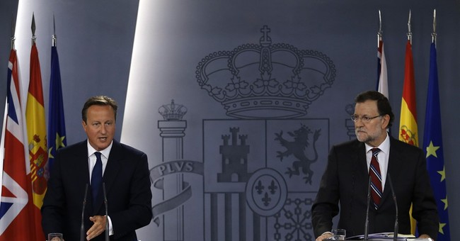 Britain's Cameron: Independent Catalonia would be out of EU