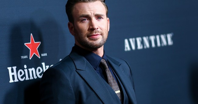 Chris Evans is feeling the pressure with directorial debut