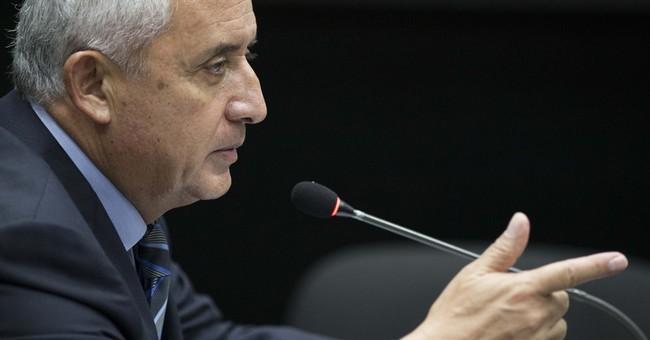 Guatemala ex-president tells court he's innocent of graft