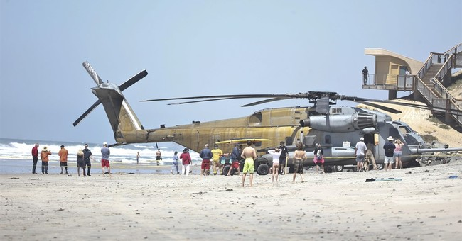 Marine killed in helicopter accident was doing rope training