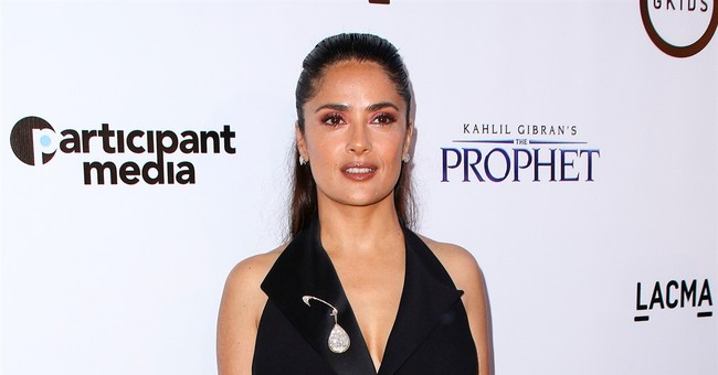 Judge grants Salma Hayek restraining order against 2 women
