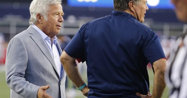 Pats coach Belichick on having Brady back: 'He never left'