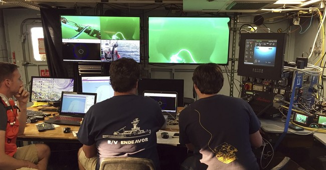 Visibility a challenge for scientists studying German U-boat