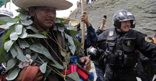 Opposition leader arrested in Bolivia