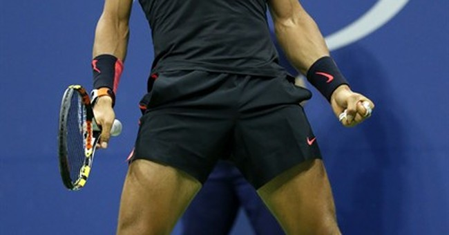 Nadal blows 2-set Slam lead for 1st time, loses to Fognini