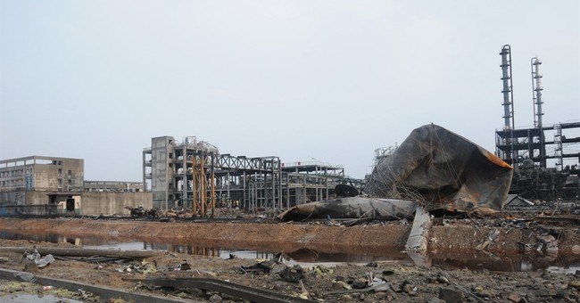 Chinese chemical factory blast death toll rises to 13