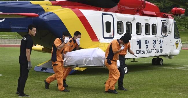 S. Korean fishing boat capsizes; 10 dead, 8 believed missing