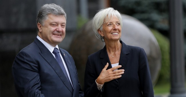IMF chief pleased with economic progress in Ukraine