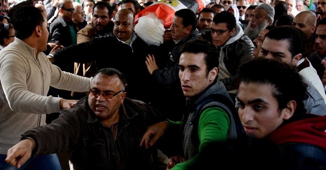 Images of shot Egypt protester revive criticism of police