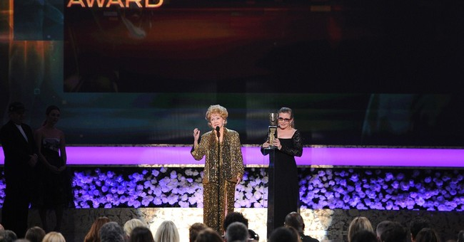 Debbie Reynolds honored for lifetime achievement
