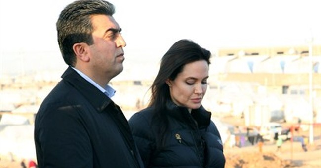 Jolie in Iraq, says more needed for Iraq and Syria refugees