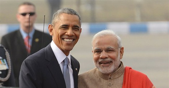 Obama looks to build toward policy breakthroughs with India