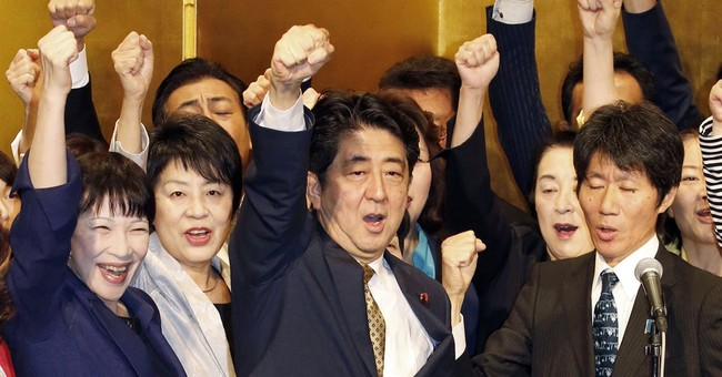 Japan's prime minister, unopposed, named party president