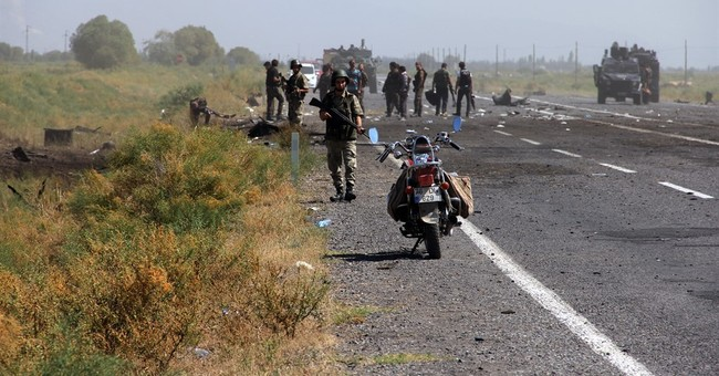 Turkey deploys forces into Iraq to hunt down PKK rebels